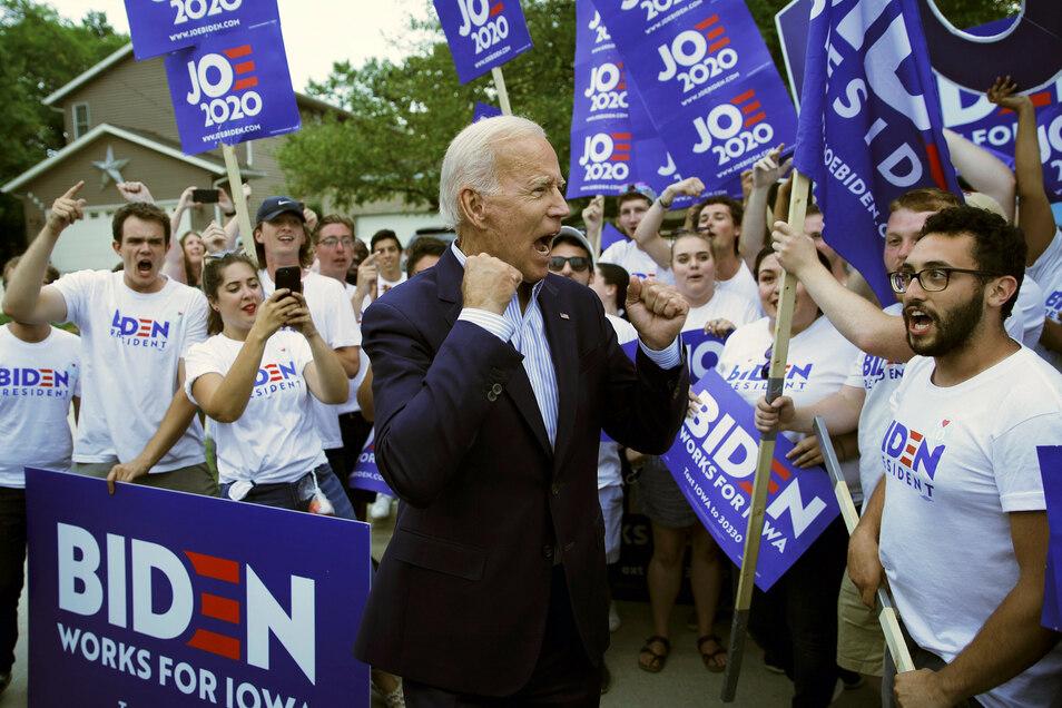 Joe Biden ist der designierte Präsidentschaftskandidat der US-Demokraten.
