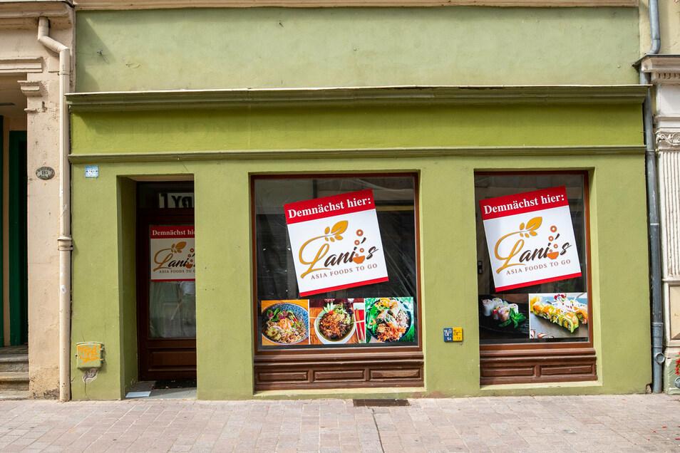 """Auf der Dohnaischen Straße 82 wird bald ein Schnellimbiss mit asiatischen Speisen eröffnen. Es liegt direkt gegenüber dem ehemaligen """"Curry B""""."""