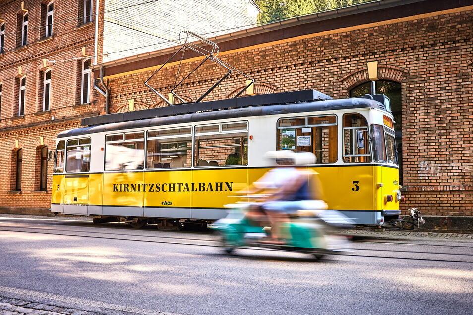 Die Kirnitzschtalbahn rollt wieder.