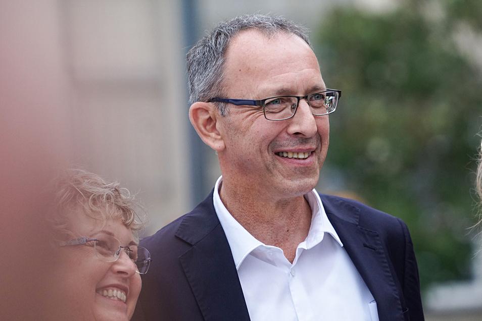 Unter allen Spitzekandidaten ist er der unerfahrenste - Jörg Urban von der AfD.