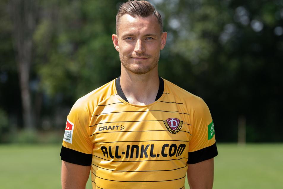 Florian Ballas ist neuer Dynamo-Kapitän.