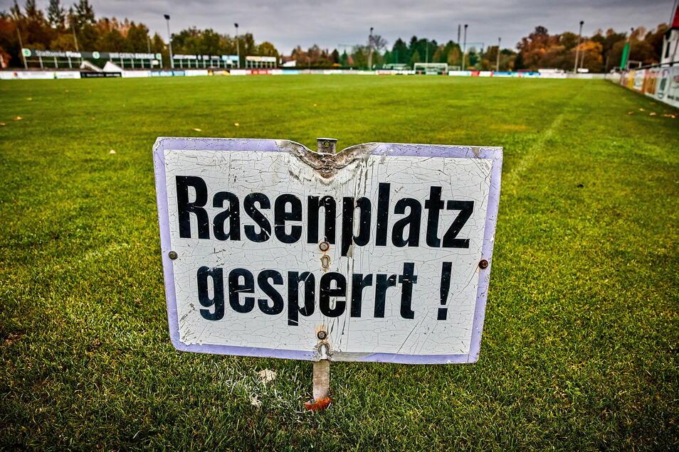 Sporttraining im Freien ist derzeit nicht erlaubt.