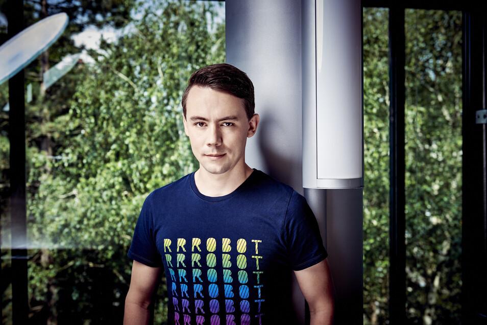 Christian Piechnick (33) von Wandelbots ist einer der besten deutschen Start-up-Gründer des Jahres 2020.