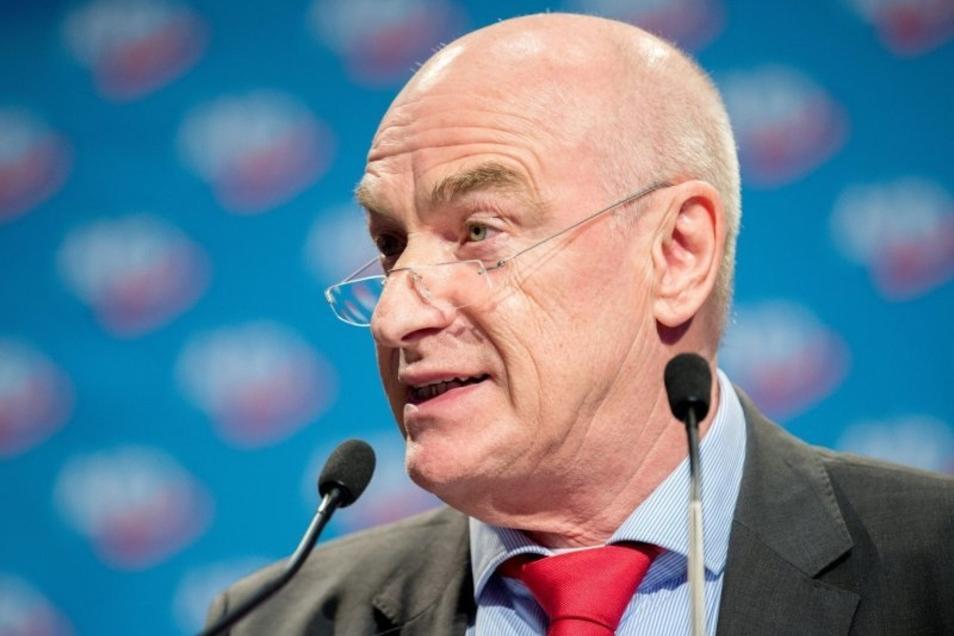 Klaus Fohrmann will zurücktreten.