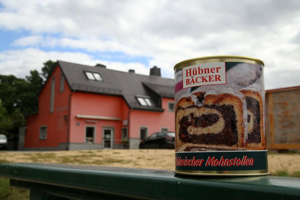 Schlesischen Mohnstollen gibt's in der Horkaer Bäckerei Hübner nicht nur zu Weihnachten, sondern in der Dose das ganze Jahr.