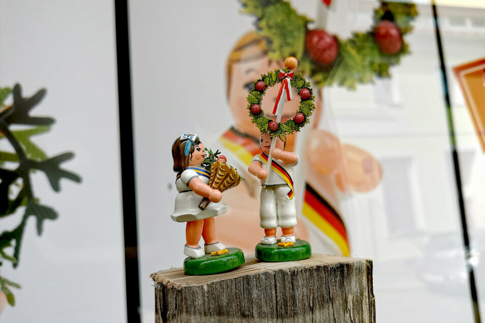 Beim Parcours sind auch Forstfestfiguren zu sehen.