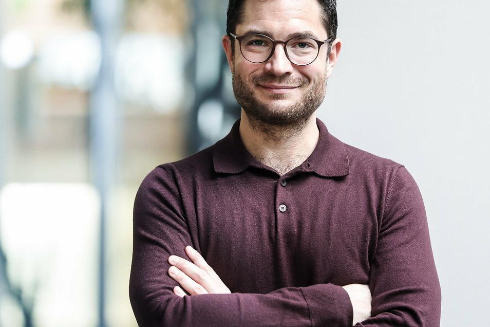 Prof. Sebastian Heumüller ist der Regionalgeschäftsführer der Helios Region Ost. Er hat den Kommunalpolitikern die Hintergründe der Schließung der Geburtsklinik in Leisnig erklärt.