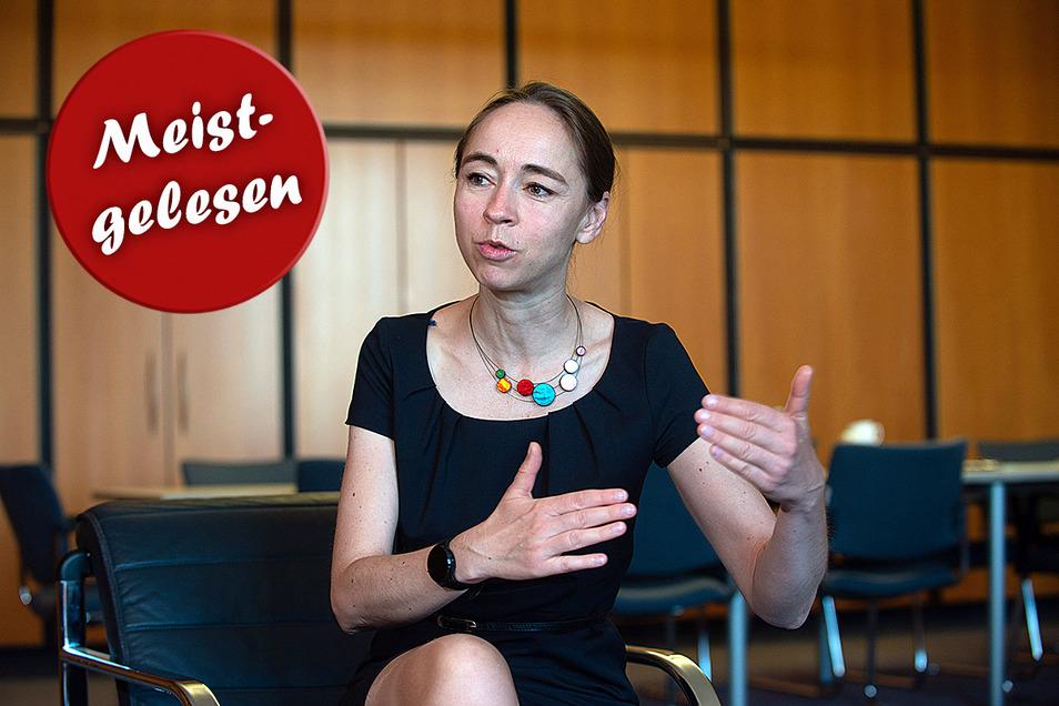 Urlaub in einem Risikogebiet heißt Bescheinigung oder Quarantäne: Dresdens Sozialbürgermeisterin Kristin Kaufmann (Linke).