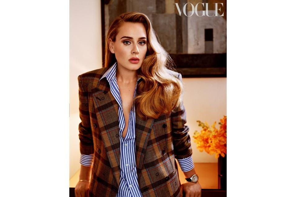 Adele in der amerikanischen Vogue.