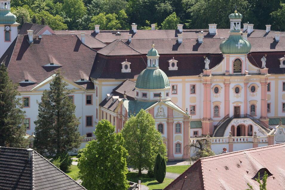 Blick auf das Kloster St. Marienthal.