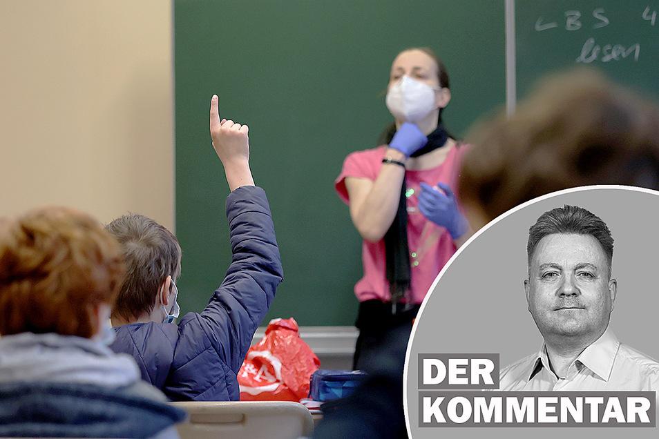 Sachsen will Mitte März alle Schulen wieder öffnen.