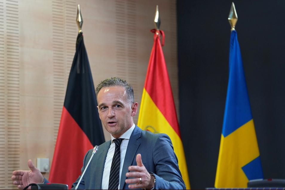 Heiko Maas (SPD) ist für die baldige Aufhebung aller Corona-Einschränkungen