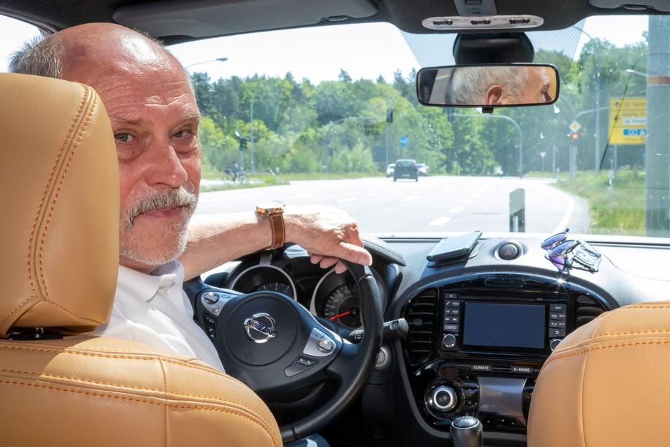 18 Jahre lang pendelte Friedhelm Paulick zwischen Bad Muskau, später Döbeln und Ostritz. Diesen Monat ist der 72-Jährige in Rente gegangen.