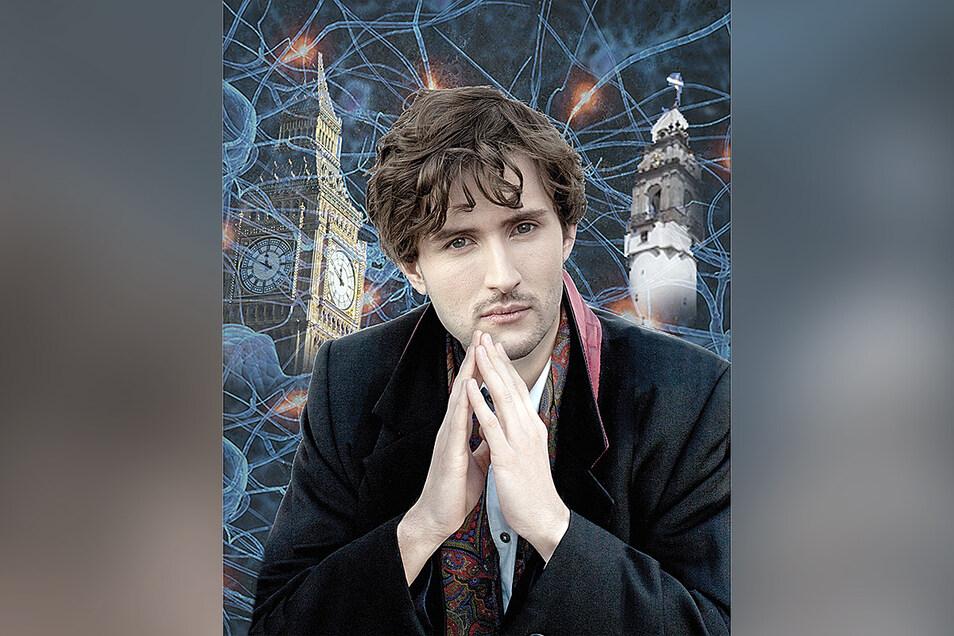 Richard Koppermann spielt beim diesjährigen Bautzener Theatersommer den Detektiv Sherlock Holmes.