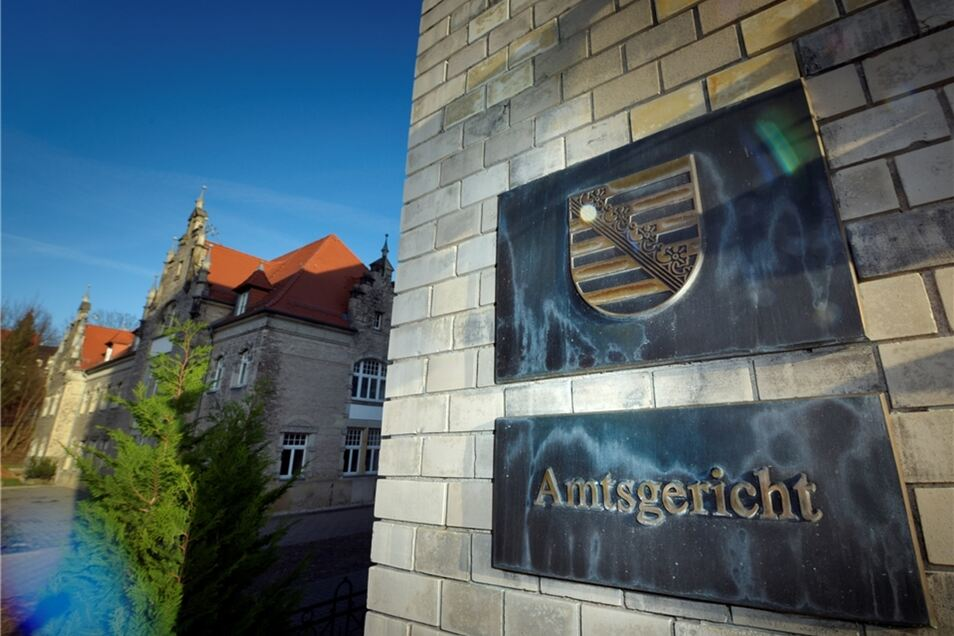 Das Amtsgericht in Döben.