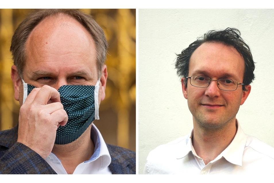 Überhaupt nicht einverstanden mit OB Hilberts Masken-Aktion ist Norbert Engemaier, Schatzmeister der Linke in Dresden.