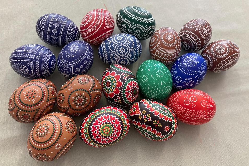 Die schönsten sorbischen Ostereier in diesem Jahr wurden ausgewählt.