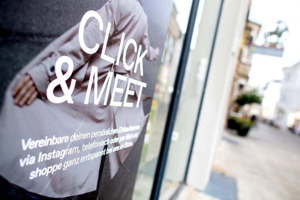 Die Infektionszahlen im Kreis Görlitz liegen zu hoch für Click & Meet.