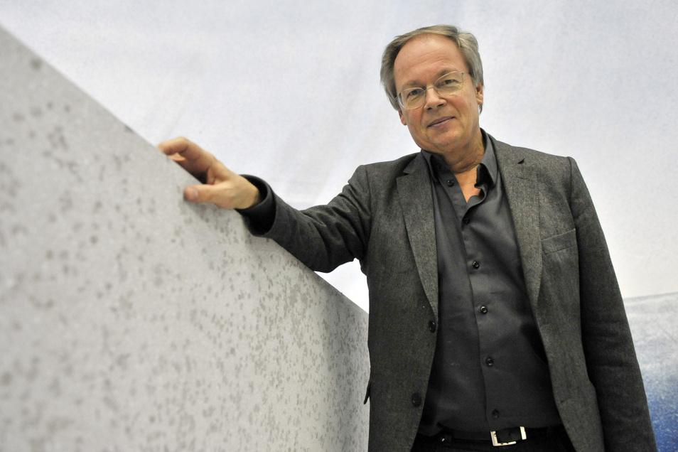 Architekt Stephan Braunfels feiert am 1. August seinen 70. Geburtstag. Dieses Bild wurde bereits vor neun Jahren aufgenommen.
