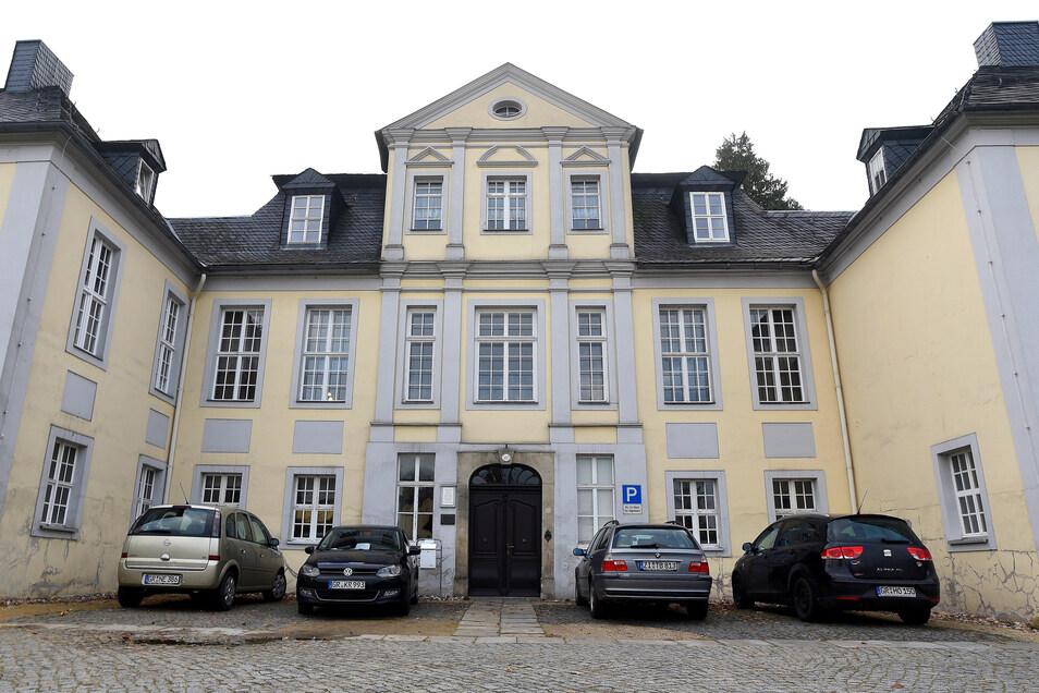 Der Sitz der Kirchenleitung in Herrrnhut.