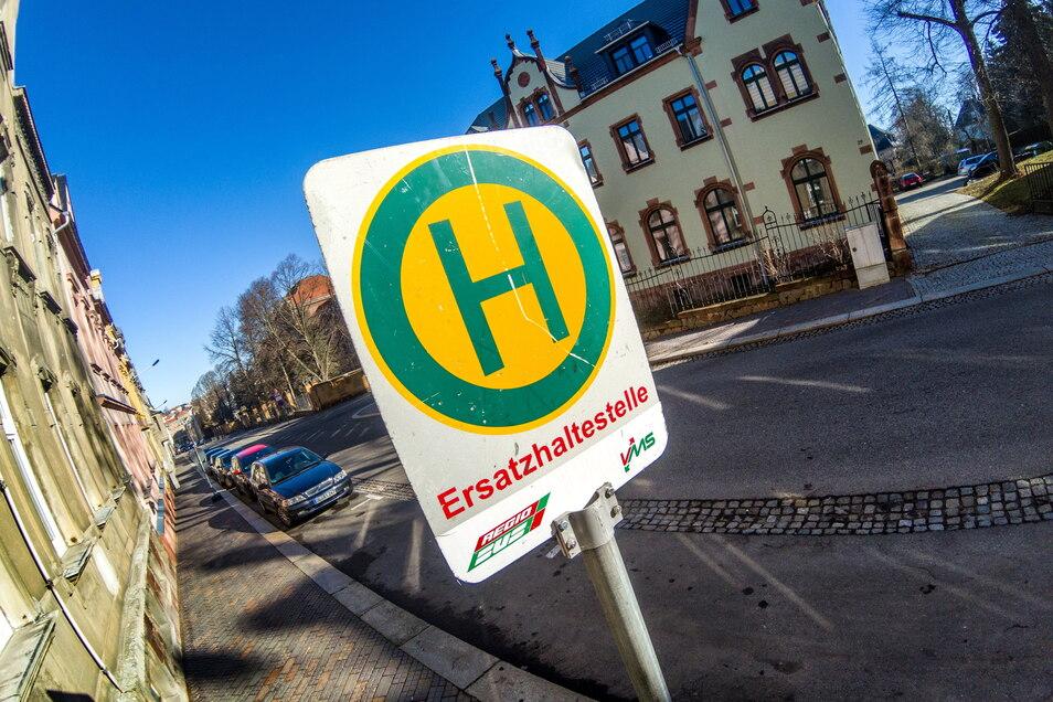 Ab Mittwoch halten Busse in der Pestalozzi-Straße in Hartha.
