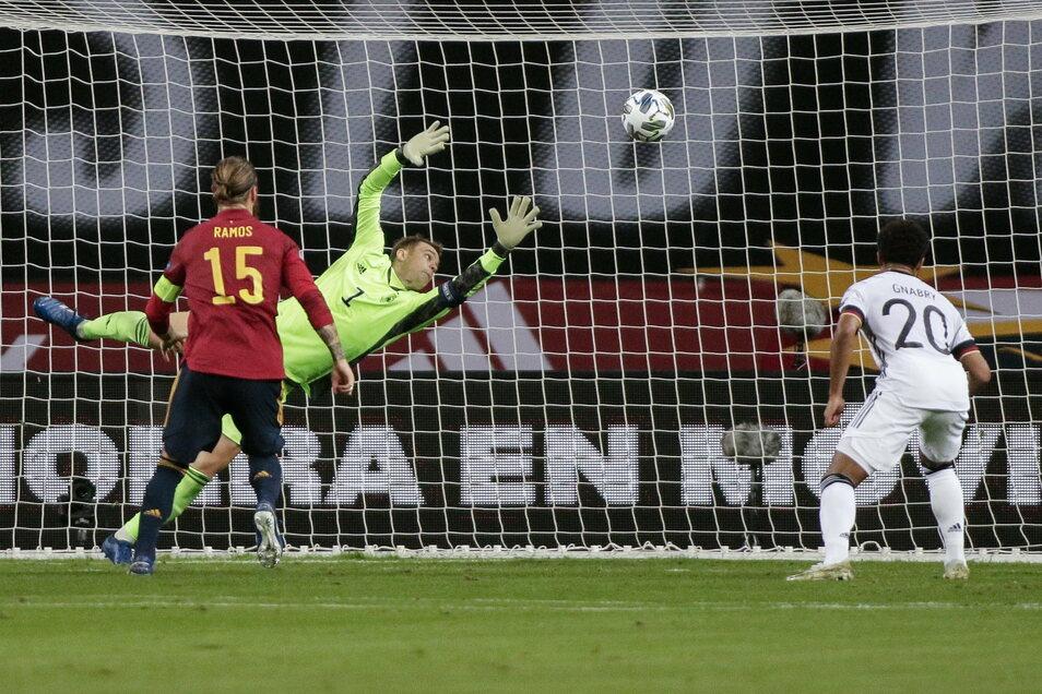 Es war das Rekordspiel für Manuel Neuer, 96 Länderspiele hat kein anderer deutscher Torwart absolviert. Er wird es lange in Erinnerung behalten, in unguter.