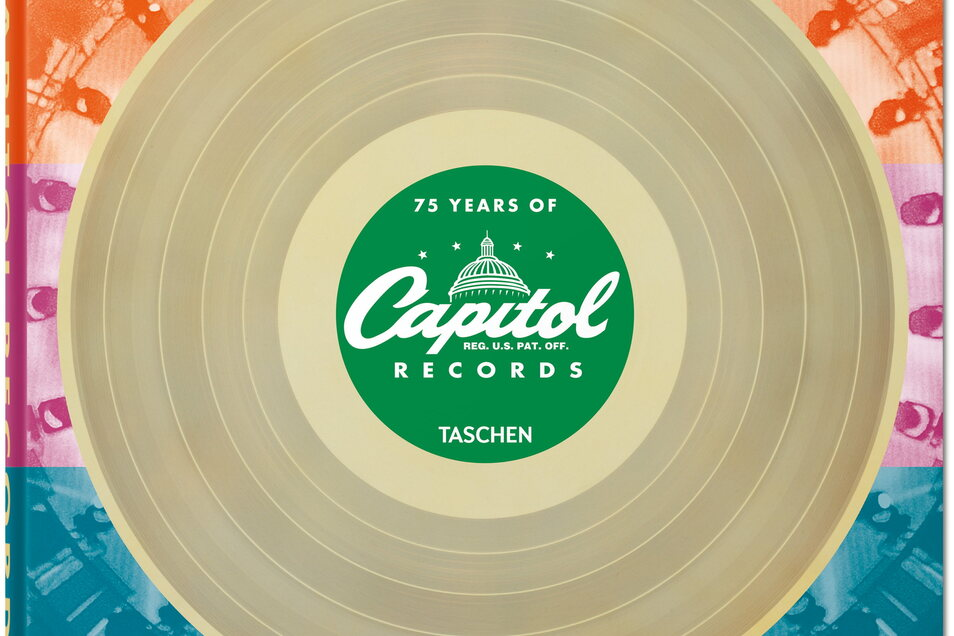 "Cover des Buchs ""75 years of Capitol Records""."