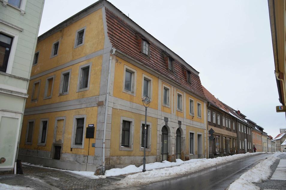 Die Alte Apotheke wird nun vom Sächsischen Immobilienmanagment verwaltet.