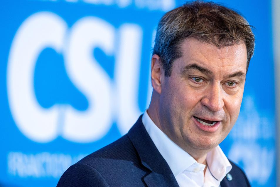 Markus Söder (CSU), Parteivorsitzender und Ministerpräsident von Bayern