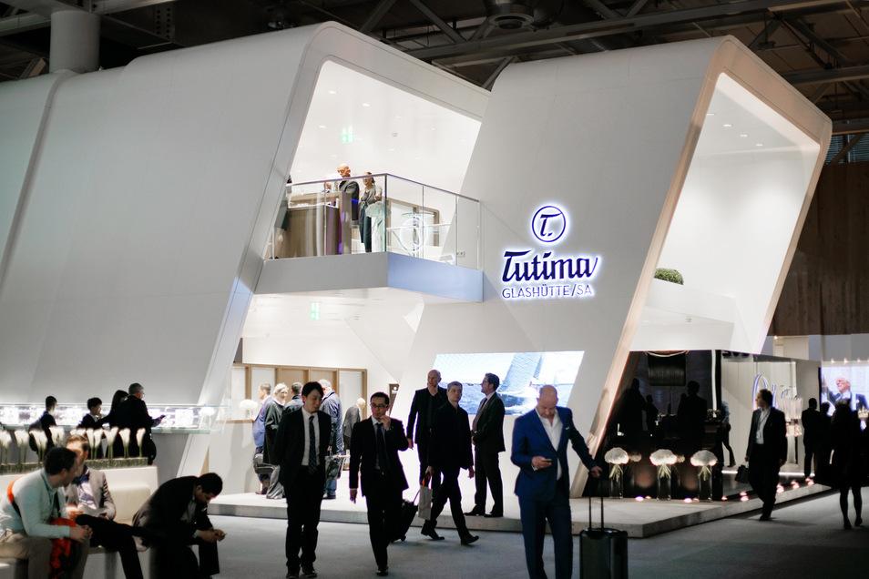 40 Jahre nutze die nun auch in Glashütte tätige Uhrenfirma Tutima die Baselworld, um ihre Produkte Fachhändlern und der Uhrenfans vorzustellen.
