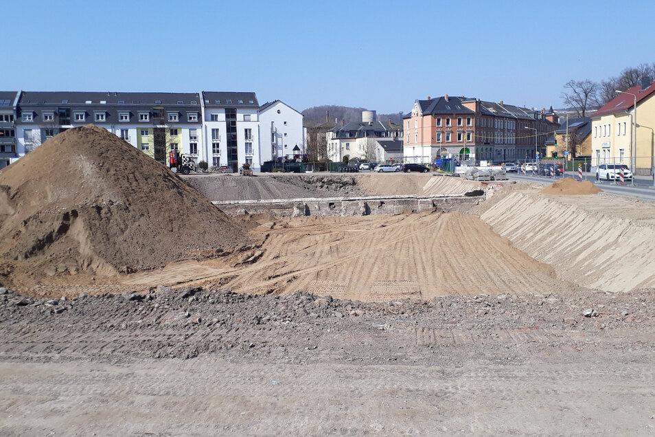 Auf dem Gelände der ehemalige Lederfabrik Freital startet der nächste Abschnitt der Sanierung.