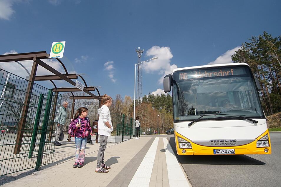 Mit dem Bildungsticket können Schüler im Kreis Bautzen alle Bus- und Bahnlinien nutzen.