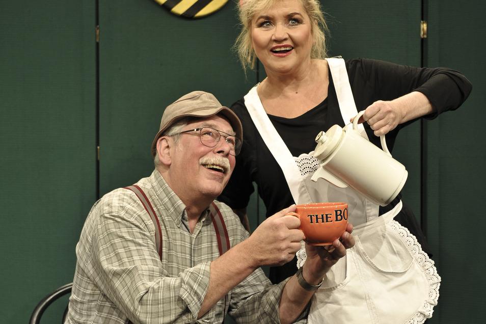 Rainer Bursche und Birgit Schaller