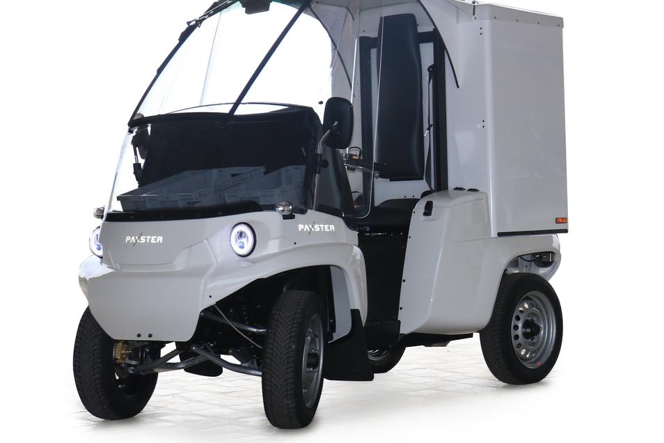 Paxster: Der in Norwegen gebaute Paxster wird in Deutschland unter dem Namen Ökoflitzer verkauft. Den Vertrieb verantwortet die MVD GmbH in Dresden, eine Tochter der DDV-Mediengruppe, die auch die SZ herausgibt. Der bis zu 45 km/h schnelle Minitransporter mit bis zu 100 Kilometern Reichweite ist vor allem für Zusteller konzipiert.