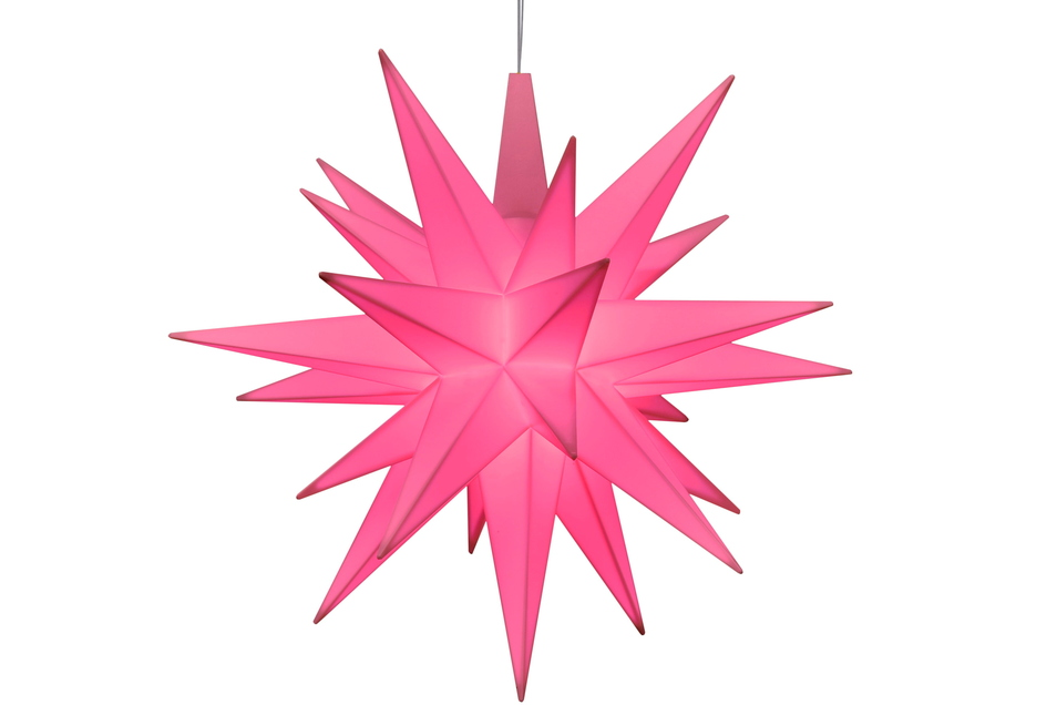 Die 13-Zentimeter-Variante aus Kunststoff ist in diesem Jahr rosa.
