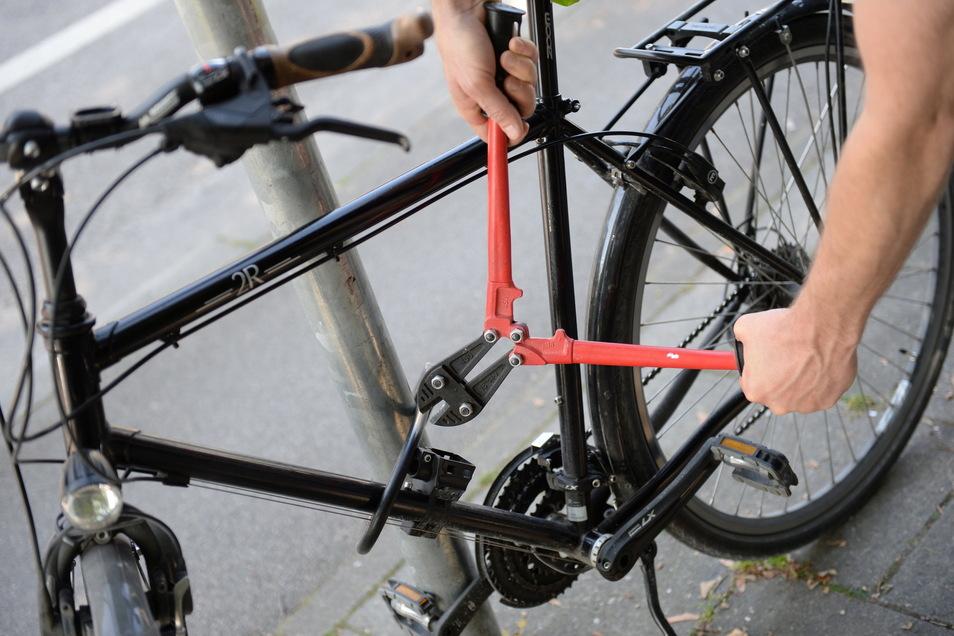 In Deutschland ist die Zahl der Fahrraddiebstähle Dank Corona leicht gesunken.