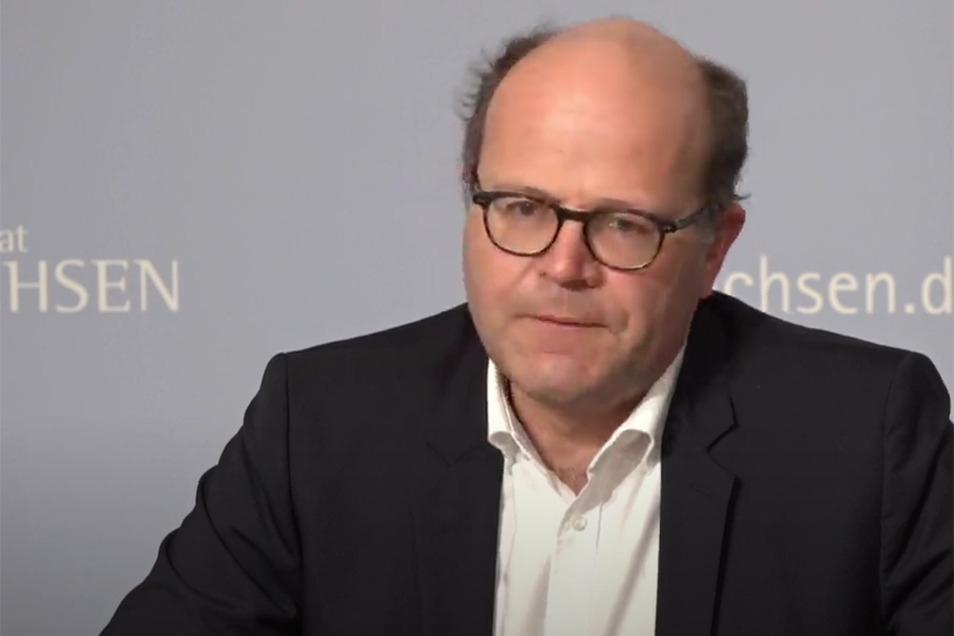 Sachsens Staatskanzleichef Oliver Schenk.