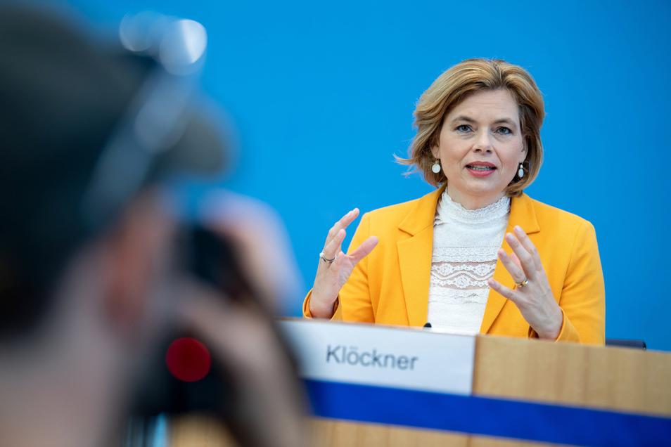 Julia Klöckner (CDU), Bundesministerin für Ernährung und Landwirtschaft