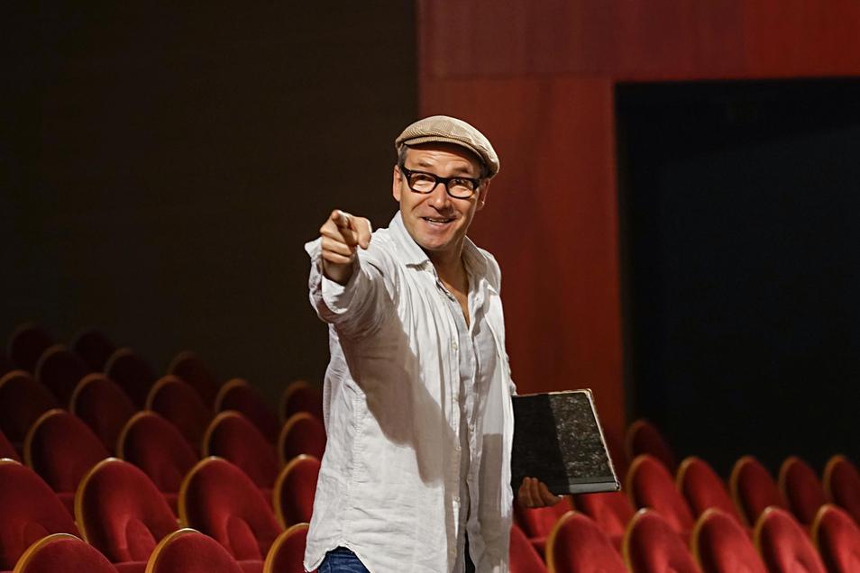 Seit sieben Jahren leitet Mirko Brankatschk das Sorbische Jugendtheater. Der 50-Jährige bringt jungen Leute mit Empathie und Geduld gutes Schauspiel nahe.