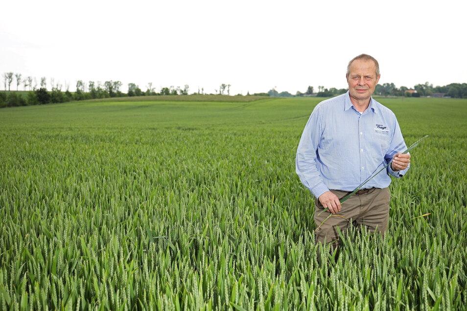 Andreas Wilhelm, selbstständiger Agrarberater, sieht Landwirte zu Unrecht von der Politik an den Pranger gestellt.