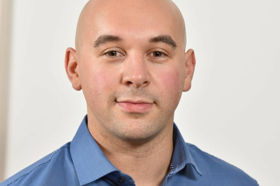 Moritz Lorenz macht sich für ein Jugendparlament in Dippoldiswalde stark. Er war Vorsitzender des Jugendclubs in Hennersdorf und arbeitet in der Fraktion der Freien Wähler im Stadtrat mit.