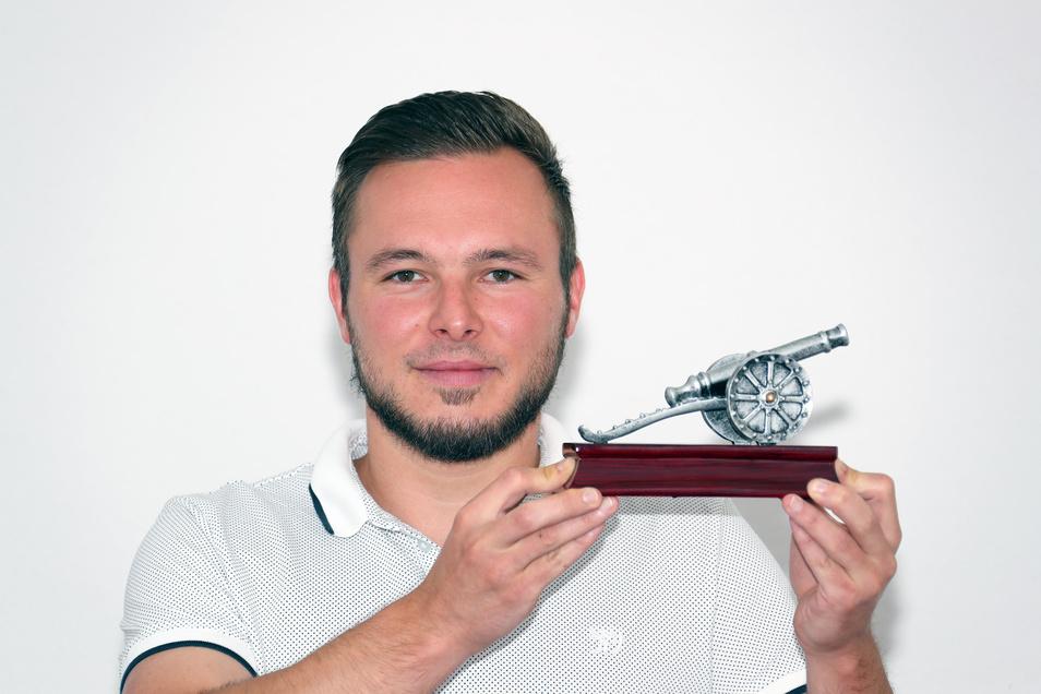 Viermal gewann Martin Schwibs die Kanone des erfolgreichsten sächsischen Torjägers. Ab kommender Saison will er seine Treffer für den Roßweiner SV erzielen.