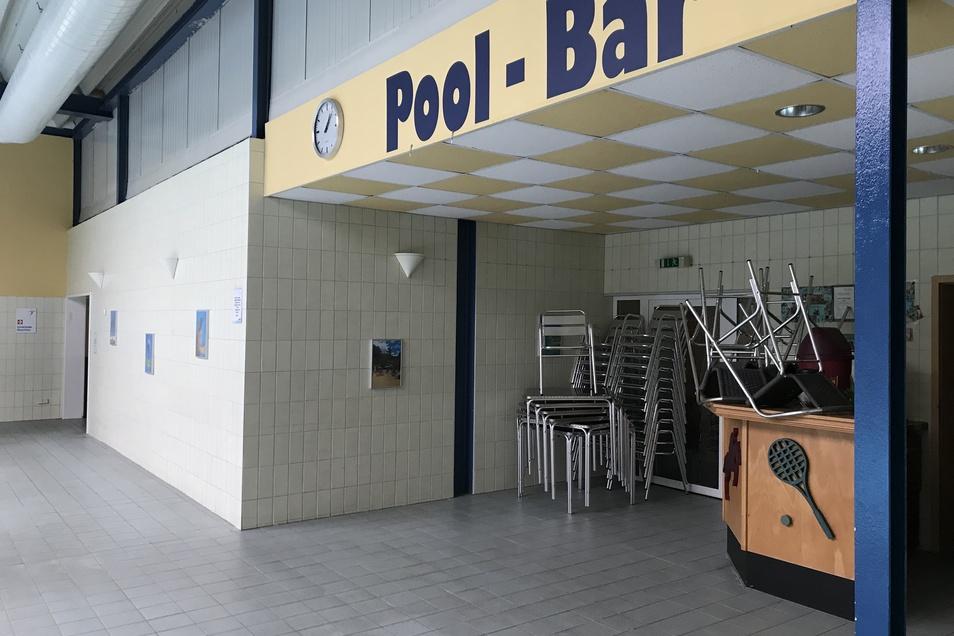 Die Pool-Bar gehört zu den Bereichen, die als letztes wieder in Betrieb genommen werden können.
