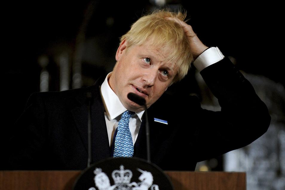 Großbritanniens Premier Boris Johnson will das Austrittsabkommen mit der EU neu verhandeln.