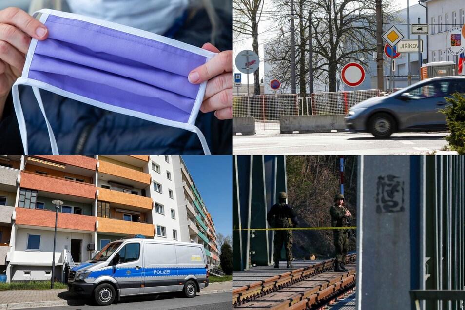 Gratis-Masken, Zigaretten-Schmuggel, Drogen-Razzia und Grenz-Schutz: Vier der Themen, über die wir heute berichtet haben.
