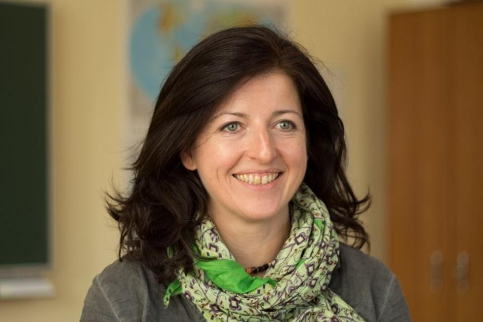 Alessia Bonetti ist eine der Lehrerinnen des international besetzten Kollegiums der Schule.