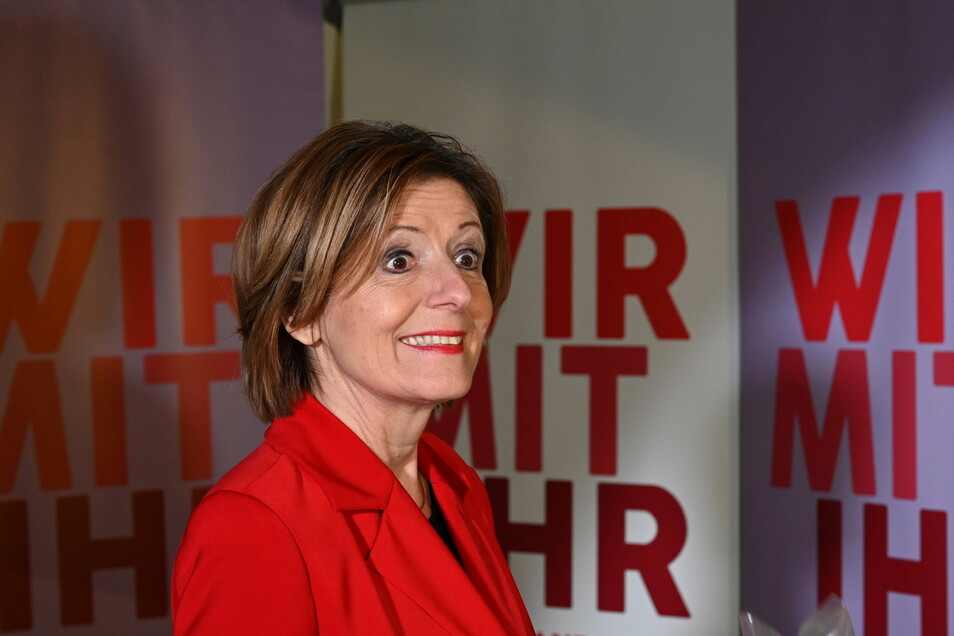 Die Ministerpräsidentin von Rheinland Pfalz, Malu Dreyer (SPD)