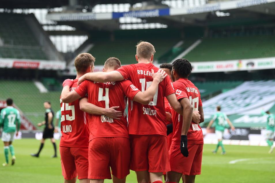 RB Leipzig gibt sich im Rennen um die deutsche Meisterschaft noch nicht geschlagen.