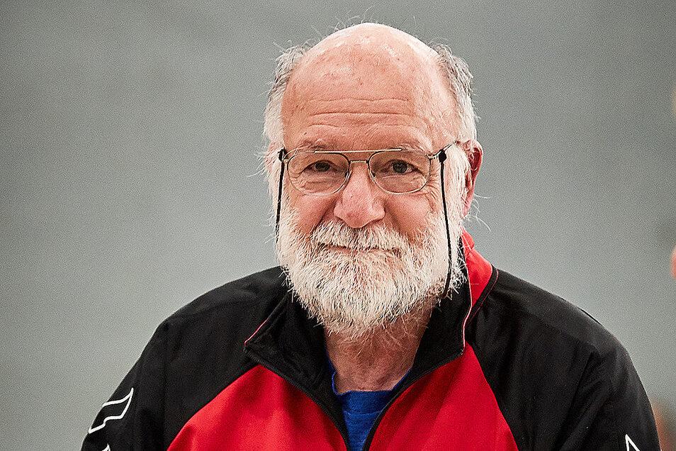 Heidenaus Handball- und SSV-Vater: Frank Müller. Er wird 73, sein Verein 70.