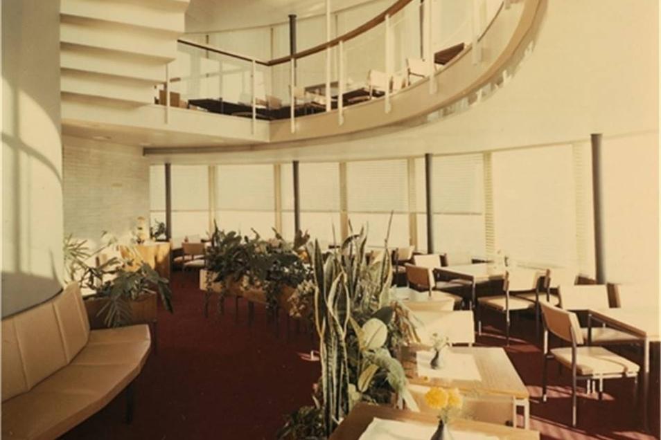 Das elegante Interieur stammte aus den Werkstätten Hellerau.